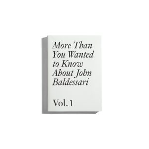 More than you wanted to know about John Baldessari #1
