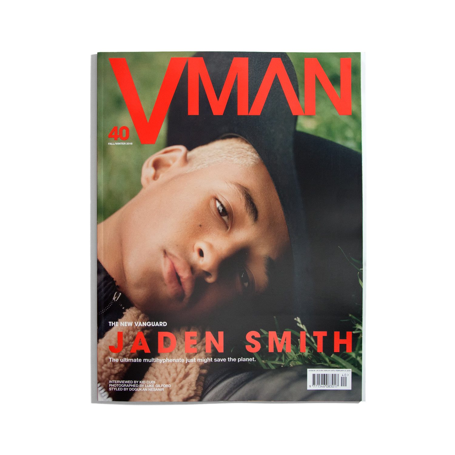 V Man #40 Autumn/Winter 2018