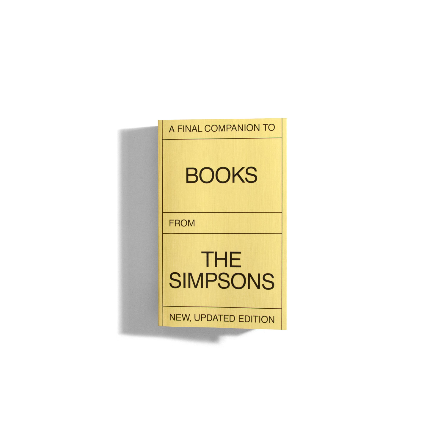 The final companion to books from the Simpsons