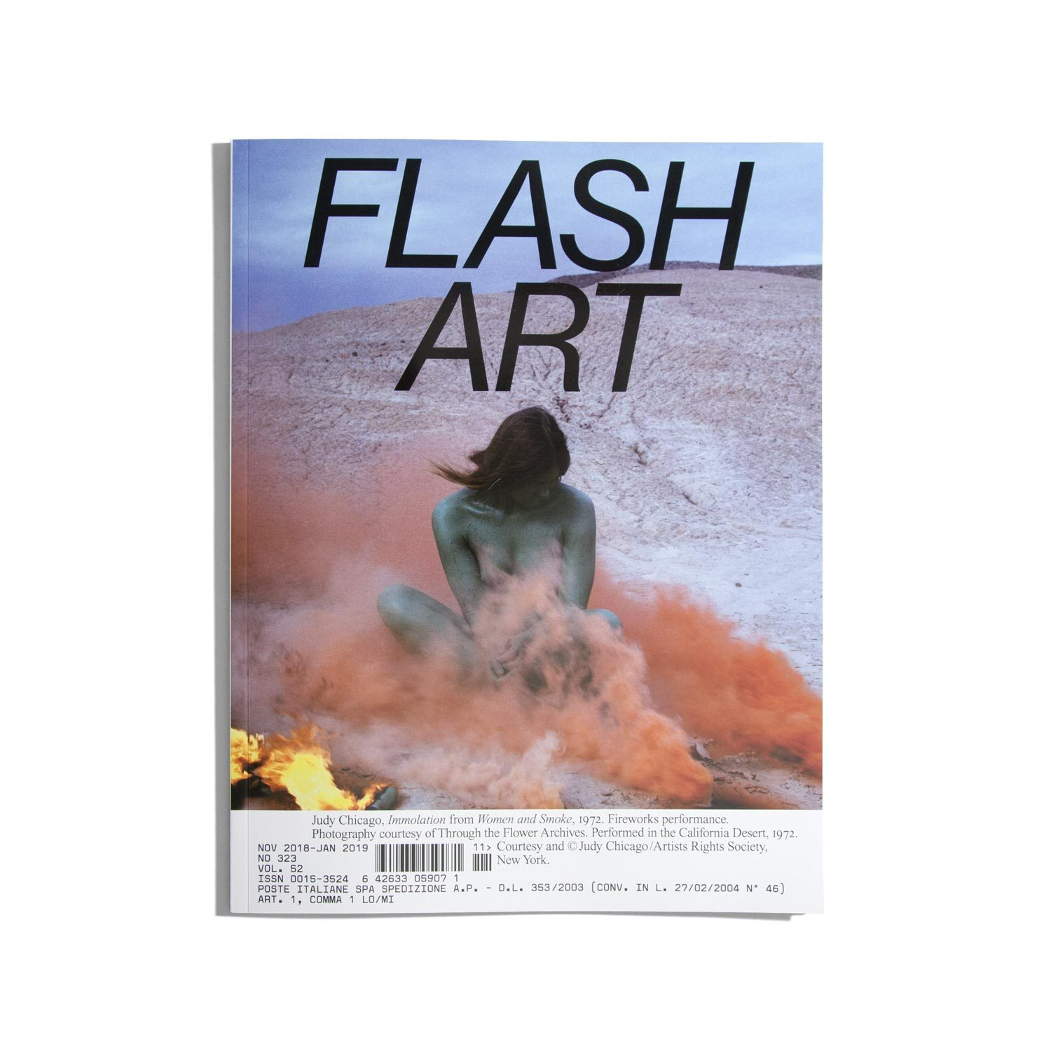 Flash Art Nov. 2018 – Jan. 2019