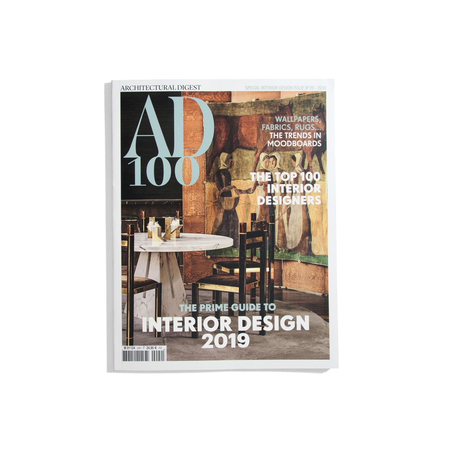 AD100 Architectural Digest -The prime guide to Interior Design 2019