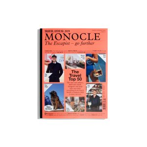 The Escapist - go further S/S 2019 - the Monocle Travel Annual