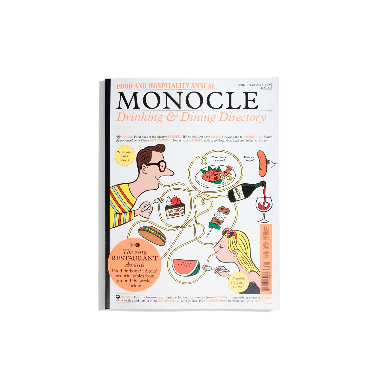 Monocle Drinking & Dining Directory #2 S/S 2019