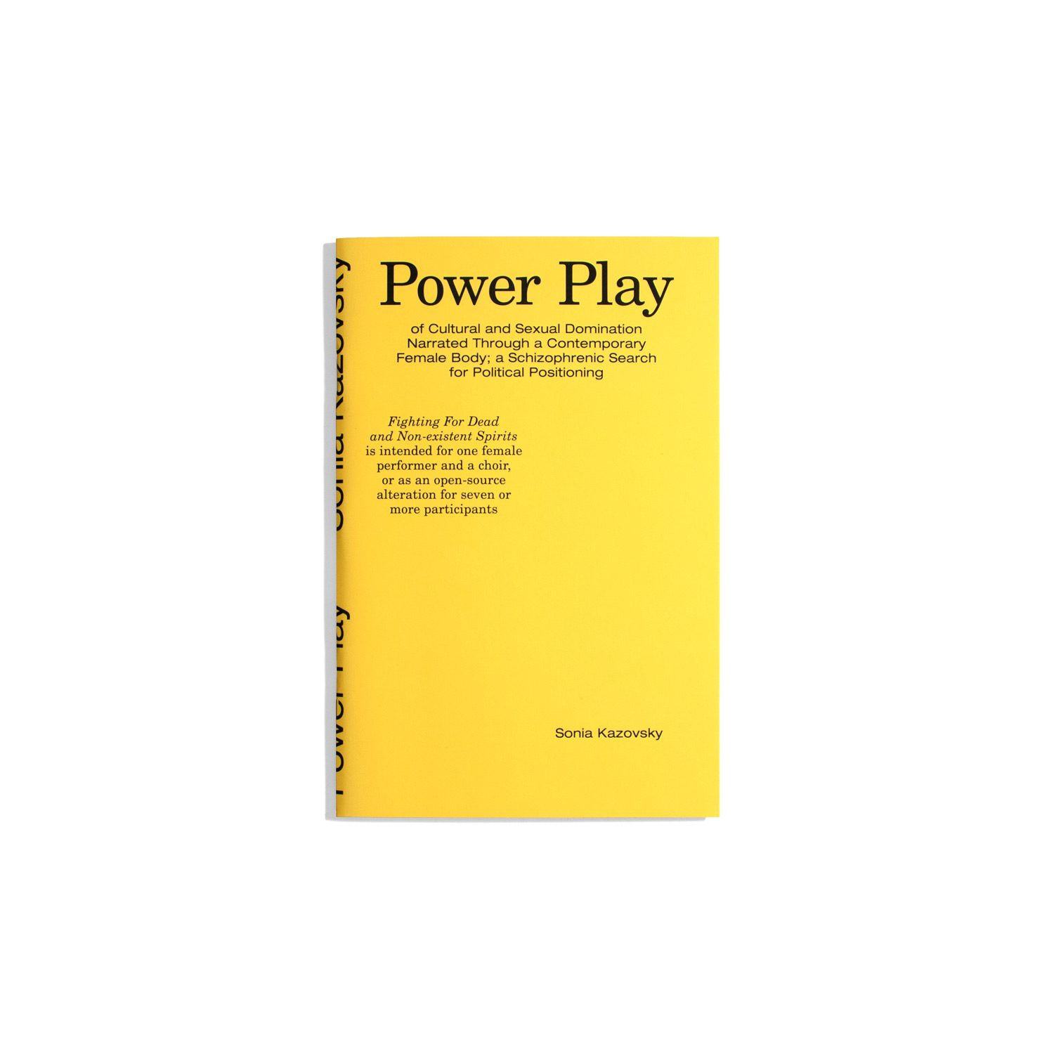 Power Play - Sonia Kazovsky