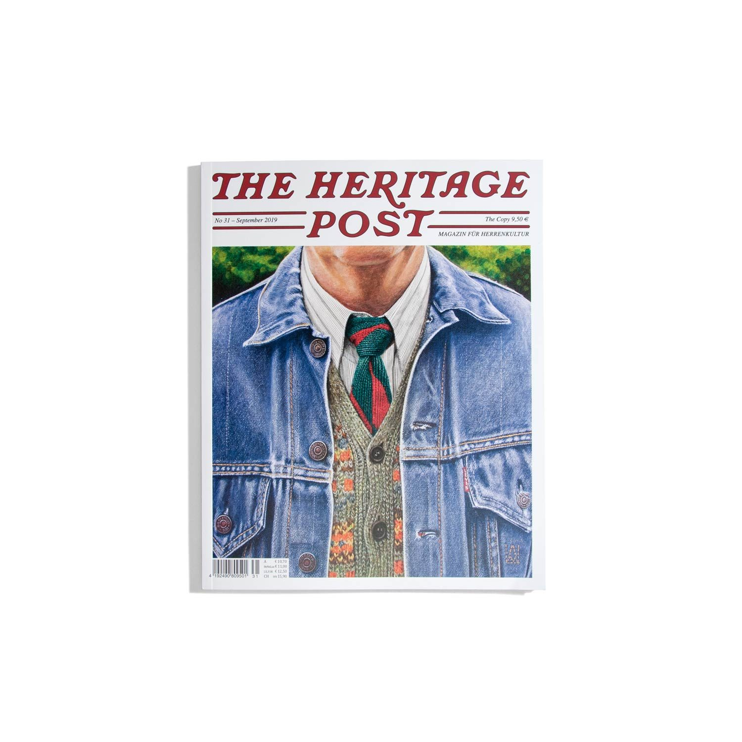 Heritage Post #31 2019 - Magazin für Herrenkultur
