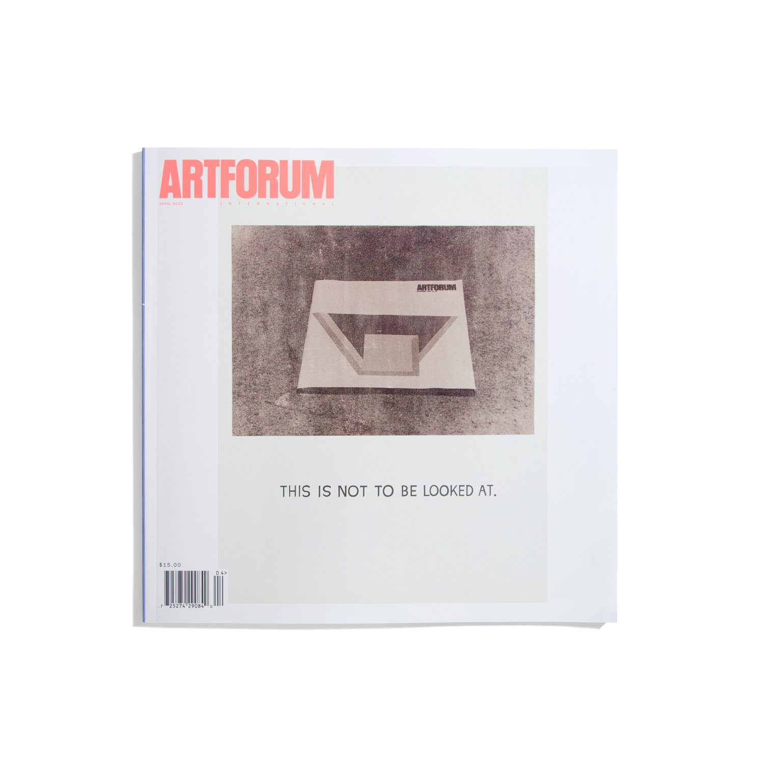 Artforum April 2020