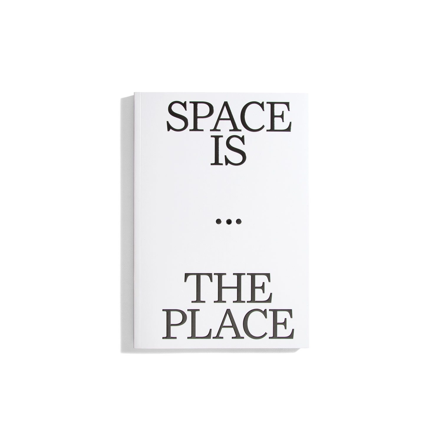 Space Is The Place - Current Reflections on Art and Architecture