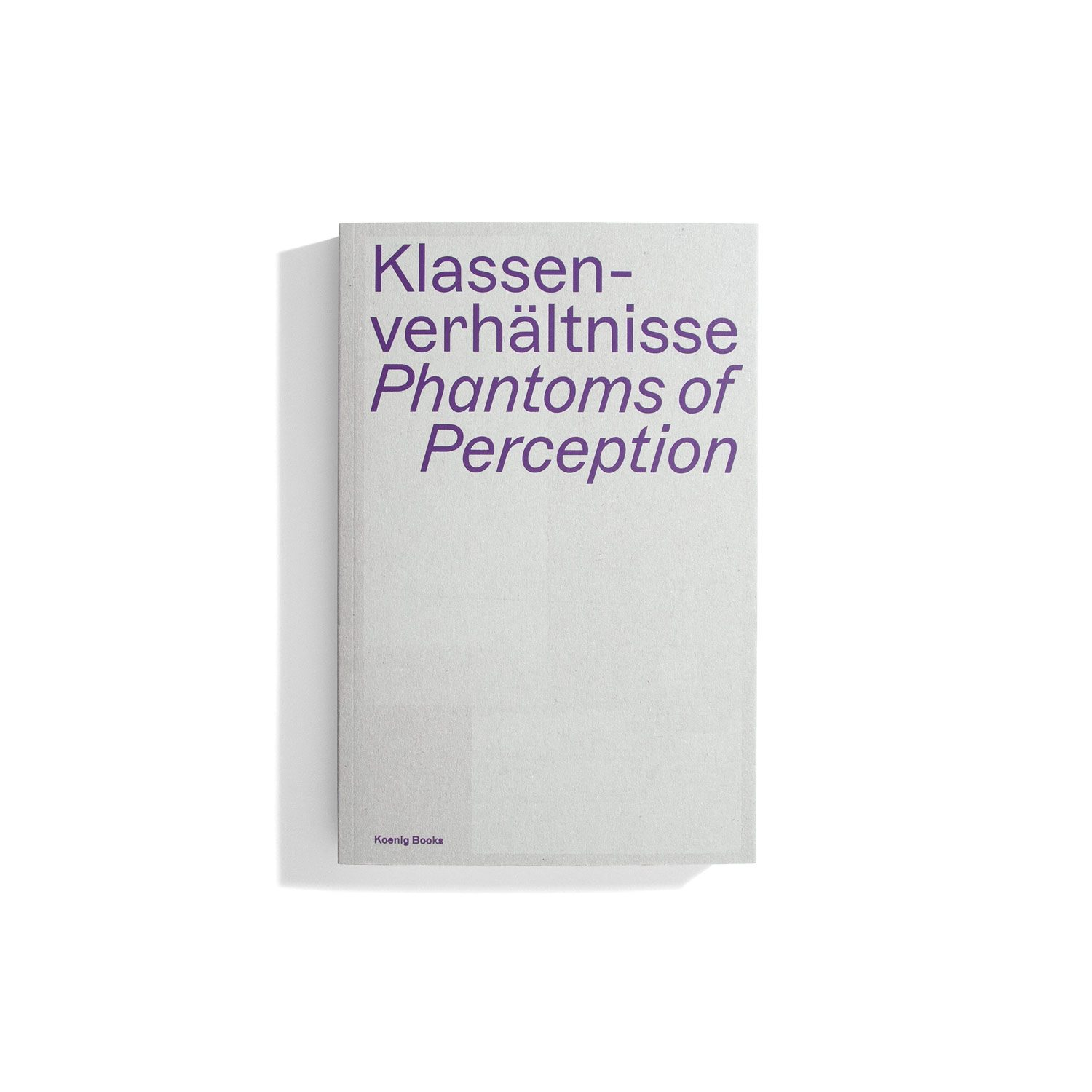 Klassenverhältnisse  - Phantoms of Perception