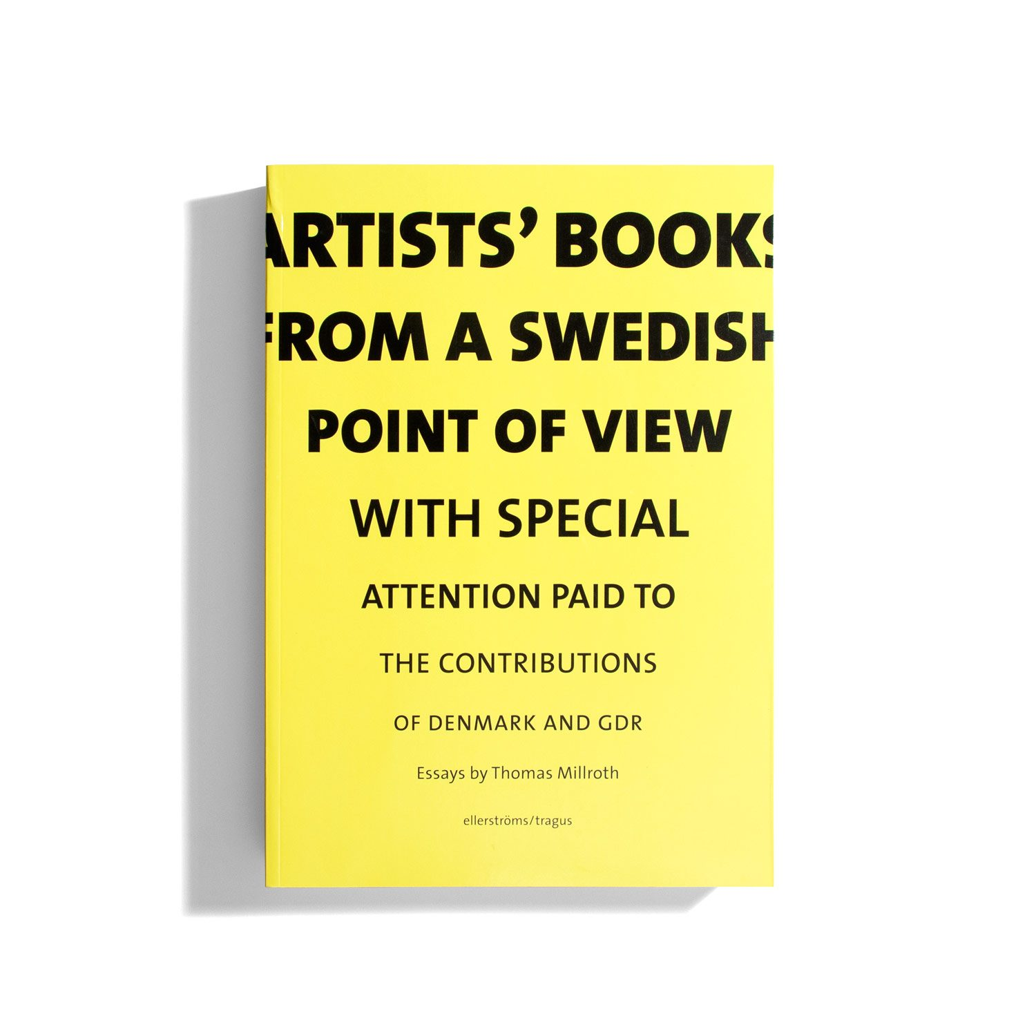 Artist's books from a Swedish point of view